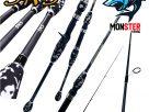 คันเบ็ดตกปลา SNS รุ่น MOUNTIAN BASS (แบบ1ท่อน และ 2 ท่อน มีทั้ง สปิ้นและเบท)